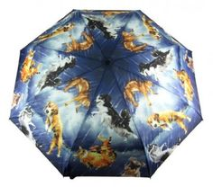 Raining Cats and Dogs folding Umbrella