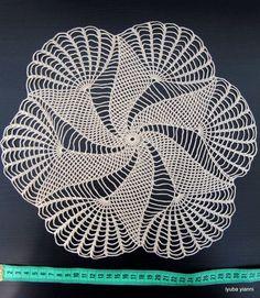 Best 11 New melange crochet doily inches-crochet tablecloth-crochet doilies-christmas gift-melange doily-medium doily-pink doily – SkillOfKing. Crochet Doily Patterns, Crochet Borders, Thread Crochet, Filet Crochet, Crochet Motif, Crochet Doilies, Hand Crochet, Crochet Stitches, Knitting Patterns