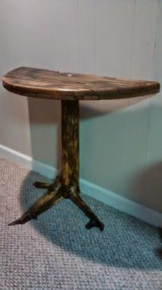 Spool Table, Unique Driftwood Tables , Recycled & Reclaimed Lumber Benches