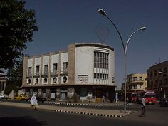 Bar Zilli, Asmara, capital of Eritrea--located within walking miles of Fiat Tagliero Building