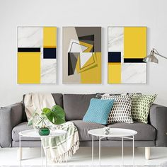 Marble Pattern Geometric Abstract Decoration Canvas Painting Art Print Poster Picture Wall Painting Home Decoration Boho Living Room, Living Room Bedroom, Living Room Decor, Bedroom Decor, Girls Bedroom, Art Decor, Decoration, Home Decor, Grand Art
