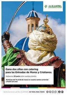 Sorteo 50 pases VIP para ver las Entradas de Moros y Crisitianos de #Alcoy http://bit.ly/1M3pFgg #CentroComercial