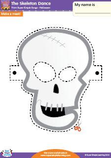 halloween masks esl