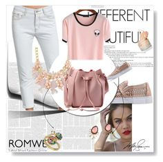 """4/5#romwe"" by fatimka-becirovic ❤ liked on Polyvore featuring WithChic"