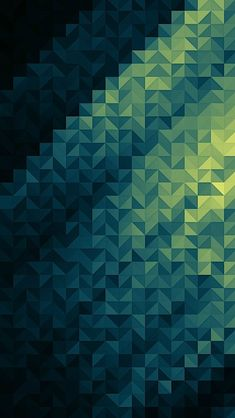 Gradient triangles, would be cool as a quilt!