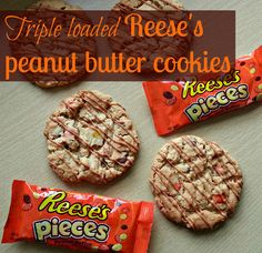 My sugar coated life... Triple loaded reese's peanut butter cookies