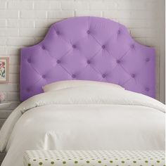 Awesome headboard available in purple or lilac