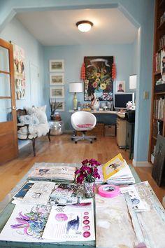 Studio — Anahata Katkin Photographed by Tiffany Kirchner Dixon