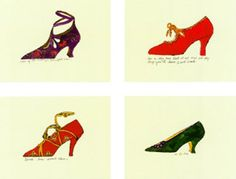 Andy Warhol, Chaussures 1955, ©