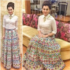 "No doubt Bridal lehenga which is a dream outfit of every girl . But after few years of marriage a question popup ""How to reuse bridal lehenga""? Designer Party Wear Dresses, Indian Designer Outfits, Indian Outfits, Lehenga Designs, Skirt Fashion, Fashion Dresses, Hijab Fashion, Men's Fashion, Lehnga Dress"