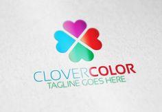 Clover Color Logo by Samedia Co. on Creative Market