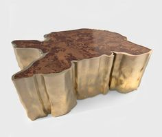 sequoia + brass table // brabbu