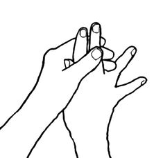 Use Jin Shin Jyutsu to Nourish Your Body Jin, Hand Mudras, Feeling Drained, Feeling Frustrated, Massage Tips, Left And Right Handed, Feeling Insecure, Feel Tired, Self Help