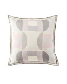 Elise Silk Twill Pillow Cover - Blush #serenaandlily