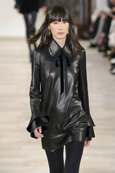 Wear everything in leather fall / winter 2016 - Ralph Lauren