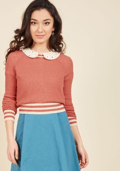 Midtown Mixer Sweater in Punch. With a casual networking event around the corner, you look to this deep pink sweater from our ModCloth namesake label to inspire your look. #pink #modcloth