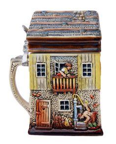 Alpine House 3D Beer Stein. Source: http://www.germansteins.com/alpine-house-3d-beer-stein/