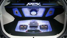 #MTXAudio TD series amplifiers and TXC crossovers on display