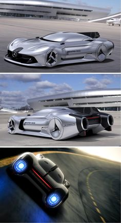 The 2040 Mercedes-Benz W196R Streamliner concept pays tribute to the original W196R, drawing from its style and technical achievements. Just as the classic formula one racer took inspiration from advancements in aeronautics (specifically WWII fighter planes), so does the 2040 W196R with its dual jet engine power system. Read More: http://www.yankodesign.com/2016/11/18/jet-powered-benz-of-the-future/