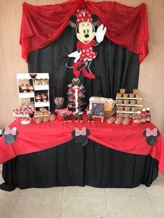 Healthy recipes for dinner with kids free Red Minnie Mouse, Minnie Mouse Baby Shower, Minnie Birthday, 2nd Birthday Parties, Mickey Party, Candy Table, Mouse Parties, Easy, Fiesta Ideas