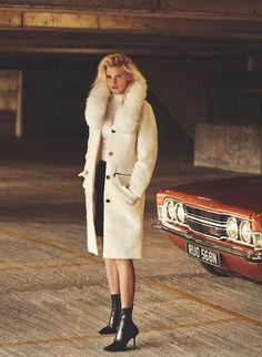 Clockwork Orange: Dtuch Supermodel Lara Stone for Russh Magazine