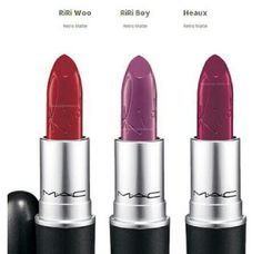 THE REST OF RIHANNA'S MAC LIPSTICK LINE COMES OUT JUNE 6th... GO GET IT