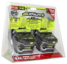 Ryobi P122 ONE+ 18-Volt Lithium Plus High Capacity 4-Ah Battery (P108 2pk retail package) Ryobi http://www.amazon.com/dp/B00H4G7EES/ref=cm_sw_r_pi_dp_8kSswb1YNHF58