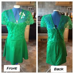 Dress I made no pattern all from measurements and a steady hand :-)