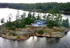 9 Insane Private Islands You Can Rent With Your Friends In Ontario For Super Cheap featured image The Places Youll Go, Great Places, Places To See, Beautiful Places, Dream Vacations, Vacation Spots, Ontario Travel, Canadian Travel, Small Island