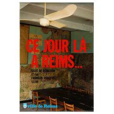 CARTON. NOUVEL. Ce jour là à Reims… Offset Offset, Reims, Galleries, Broadway Shows, Auction, Posters, Neon Signs, D Day, Event Posters