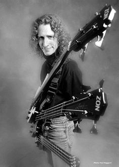 Michael Manring with Zon Basses