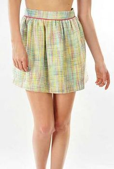 Color Theory Multicolor Skater Skirt | Sincerely Sweet Boutique
