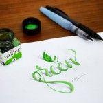 New 3D Calligraphy Exercises by Tolga Girgin