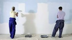 Image result for people painting  a room