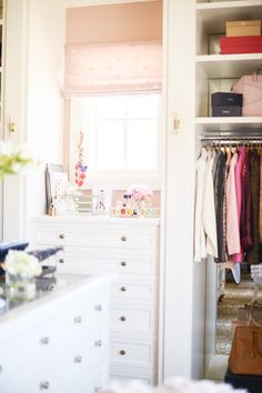 office/closet reveal: the finished product… dream closet space Alice Lane