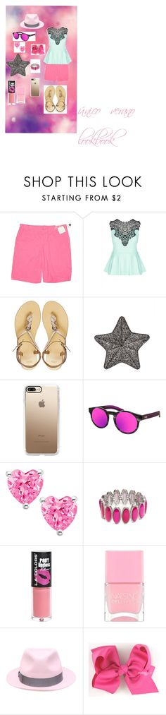 """unique summer lookbook"" by miliorobb on Polyvore featuring Gap, City Chic, ASOS, Casetify, AQS by Aquaswiss, New Directions, L.A. Colors, Nails Inc. and Borsalino"