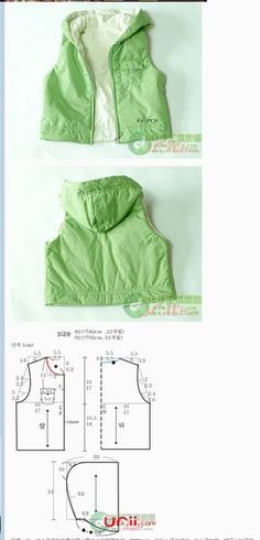 Sewing Patterns Free Kids Jacket 32 Ideas For 2019 Easy Sewing Patterns, Kids Patterns, Doll Clothes Patterns, Sewing Clothes, Clothing Patterns, Diy Clothes, Sewing For Kids, Baby Sewing, Kind Mode