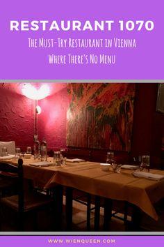 Restaurant 1070 Review #Vienna #Viennafood Vienna Food, About Me Blog, Menu, Restaurant, Queen, Drinks, Travel, Menu Board Design, Drinking