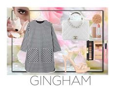"""""""9"""" by arasaputri08 ❤ liked on Polyvore featuring Schutz, Chanel, Illamasqua, Marc Jacobs, Bobbi Brown Cosmetics, Yves Saint Laurent and gingham"""