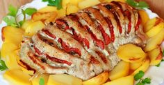 Recent Recipes - Receptik. Hungarian Recipes, Russian Recipes, My Recipes, Cooking Recipes, Pork Tenderloin Recipes, Food Menu, Carne, Sushi, Sausage