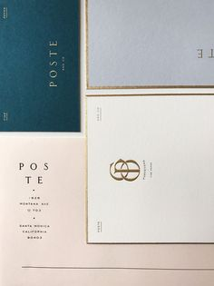 Poste and Co. ID – SDCO Partners / Stitch Design Co.