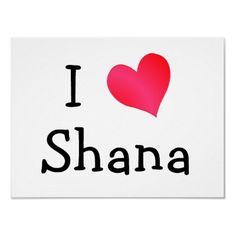 It's true! I do <3 Shana!