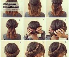 Chignon headband ♥