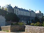 Château des ducs de La Trémoille, classé 1861