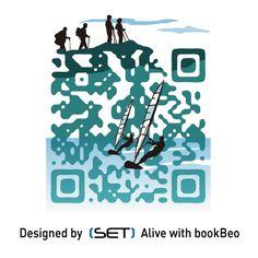 QR Code designé pour l'Office de Tourisme de Brest métropole océane. A retrouver dans le Guide 2012. Cr Code, L Office, Plastic Tags, Brest, Mobile Marketing, Guide, Ant, Communication, Learning