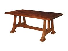 Shop for Harden Furniture Napa Trestle Table, 1699, and other Dining Room Dining Tables at Walter E. Smithe in 11 Chicagoland locations in Illinois and Merrillville, Indiana. Casual Cherry styling gives this Adirondack-inspired solid cherry group a unique place in the collections. Inspired by nature's wonder, Cabinetmaker's Cherry derives its character by revisiting the woodsmith techniques of early cabinetmakers and showcases exposed mortise and tenon joinery.