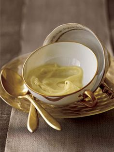 The vanilla bean is steeped milk to make this rich Vanilla Bean Pudding.