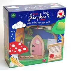 Believing in fairies is easy when you have your very own fairy door to watch their comings and goings. We love this present!