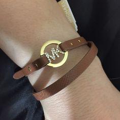 Michael Kors wrap bracelet Never worn Michael Kors Jewelry Bracelets