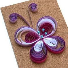 Schritt 19 Quilling Schmetterling Anleitung Step 19 Quilling Butterfly Instructions Pop Up Restaurant – step by stepInstructions for Quilling Rainbow Flowers Quilling.czPicture result for the step how to make quilling flowers Quilling Butterfly, Neli Quilling, Origami And Quilling, Quilling Cards, Butterfly Flowers, Origami Paper, Diy Paper, Flower Birthday Cards, Birthday Card Design